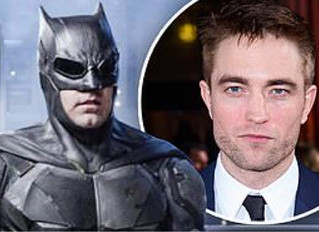 Robert Pattinson to take over for Ben Affleck to play Caped Crusader in upcoming superhero flick The