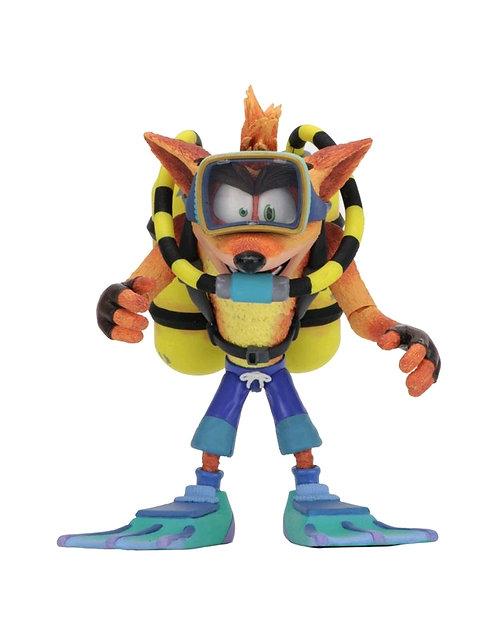 "Crash Bandicoot - Crash Scuba 7"" Action Figur"