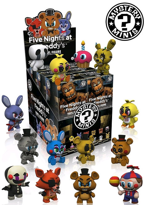 Five Nights At Freddy's - Mystery Minis Series 1 Blind  Box Set