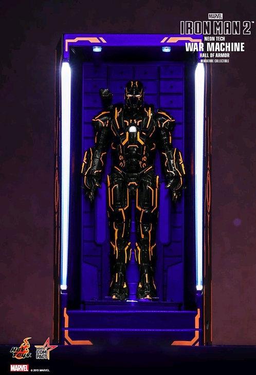 Iron Man 2 - War Machine Neon Tech Hall of Armour