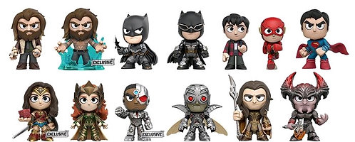 Justice League Movie - Mystery Minis GS US Exclusive Blind Box Set Of 12