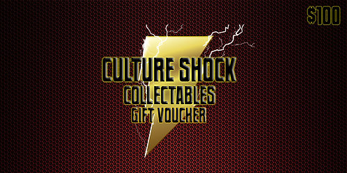 Culture Shock Collectables Gift Voucher - $100