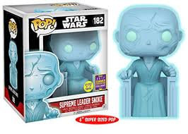 "Funko Star Wars - 6"" Supreme Leader Snoke SDCC 2017"