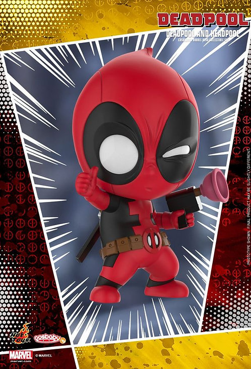 Deadpool - Deadpool & Headpool Cosbaby Set