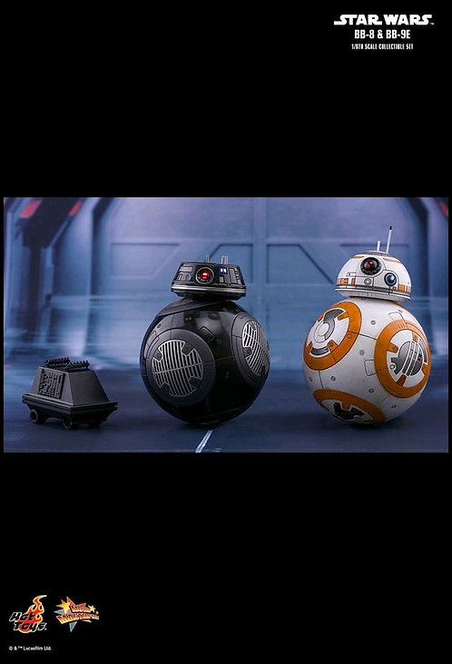 Star Wars - BB-8 & BB-9E Episode VIII The Last Jedi 1:6 Scale Action Figure Set