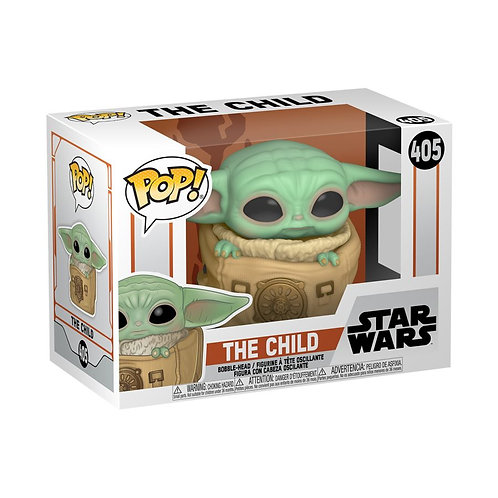 Star Wars: The Mandalorian - Child in Rucksack Pop! Vinyl
