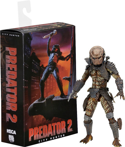 "Predator 2 - 7"" Ultimate City Hunter Figure"
