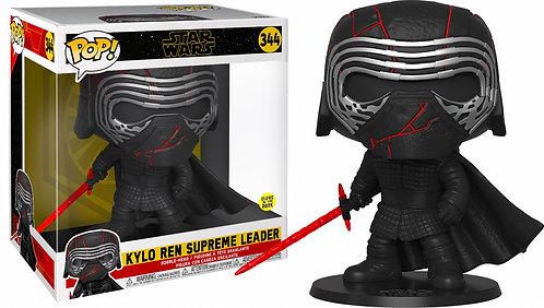 """Star Wars - Kylo Ren Glow Episode IX Rise of Skywalker 10"""" Pop! Vinyl"""