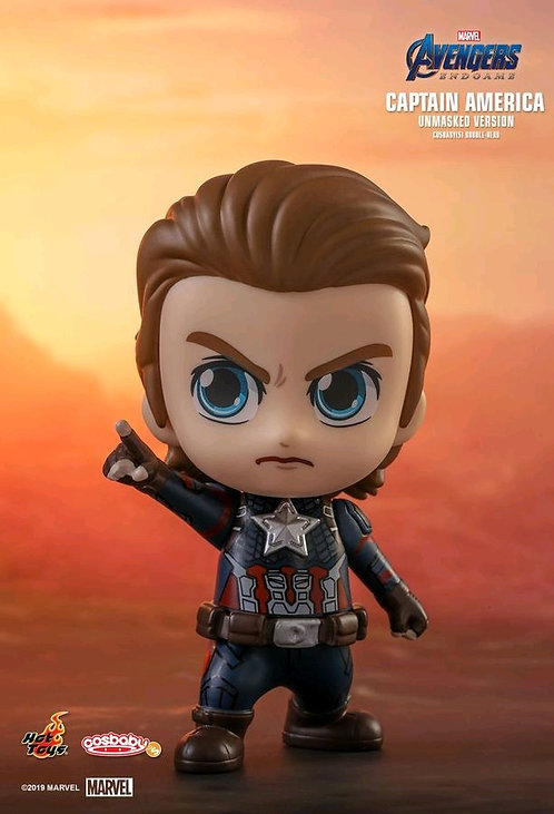 Avengers 4: Endgame - Captain America Unmasked Cosbaby