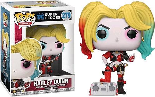 Batman - Harley Quinn with Boombox Rebirth US Exclusive Pop! Vinyl