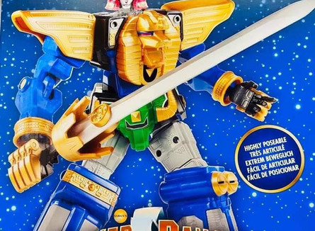 "Lightning Collection 12"" Zeo Megazord"