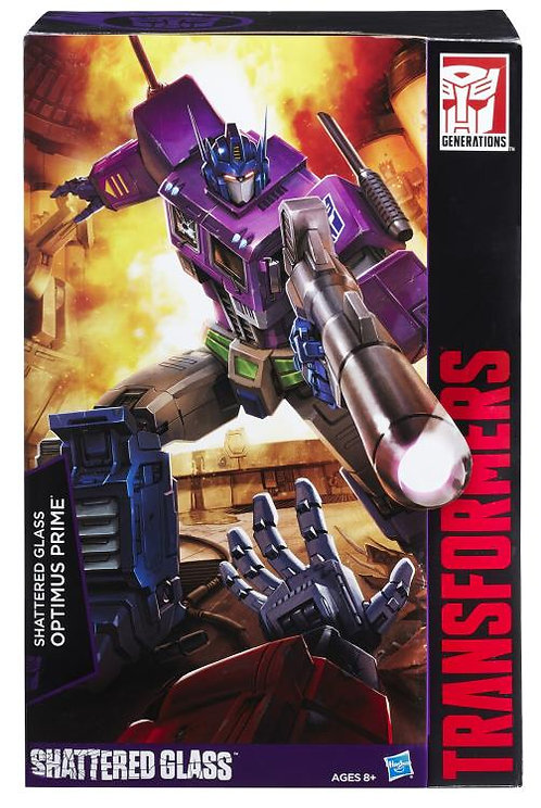 Transformers - Masterpiece Shattered Glass Optimus Prime