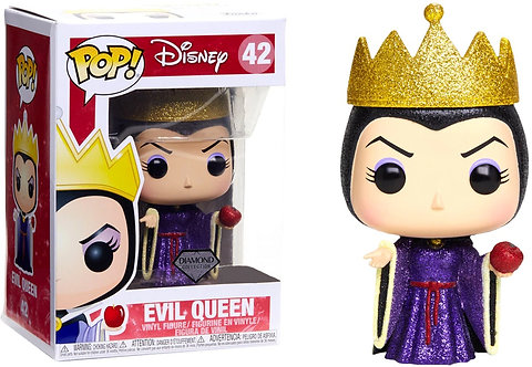 Snow White and the Seven Dwarfs - Evil Queen Diamond Glitter US Exclusive Pop! V
