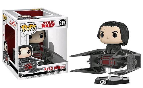 Star Wars - Kylo Ren with TIE Fighter Ep8 Pop! Deluxe