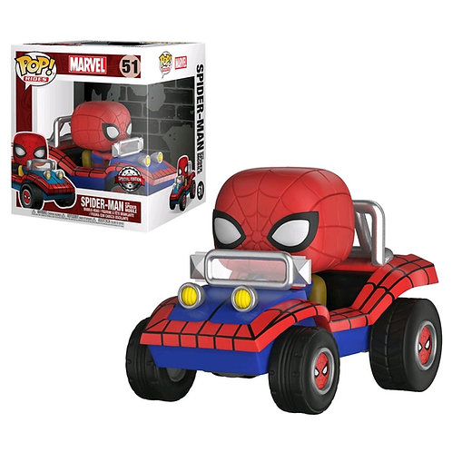 Spider-Man - Spider-Man with Spider Mobile Pop! Ride