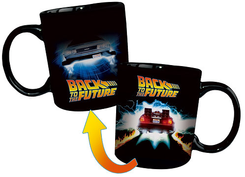 Back to the Future - Delorean Heat Changing Mug