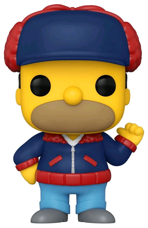 The Simpsons - Homer Mr Plow US Exclusive Pop! Vinyl