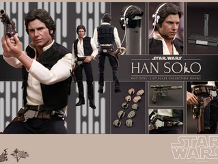 Star Wars Episode IV: 1/6th scale Hot Toys Han Solo Collectible Figure
