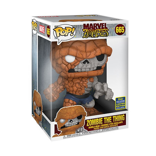 "Marvel Zombies - Zombie The Thing 10"" Super-Sized SDCC 2020 Exclusive POP!"