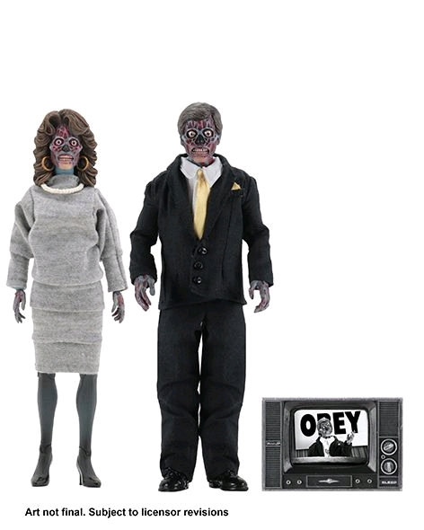 """They Live - 8"""" Clothed Action Figure 2-pack"""