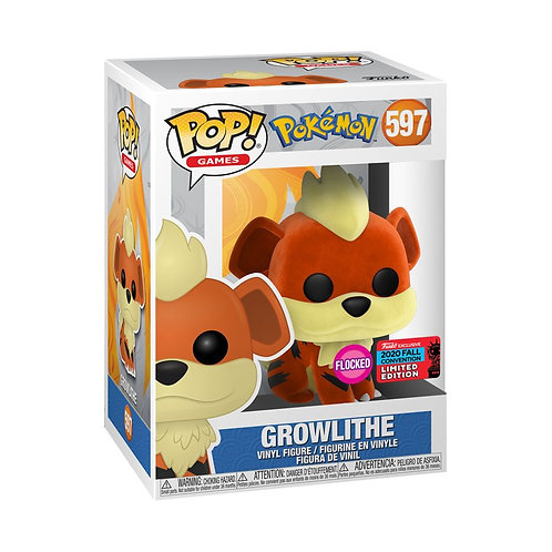 Pokemon - Growlithe Pop (Flocked) NYCC 2020 Exclusive