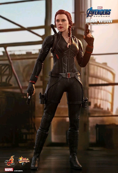 "Avengers 4: Endgame - Black Widow 12"" 1:6 Scale Action Figure"