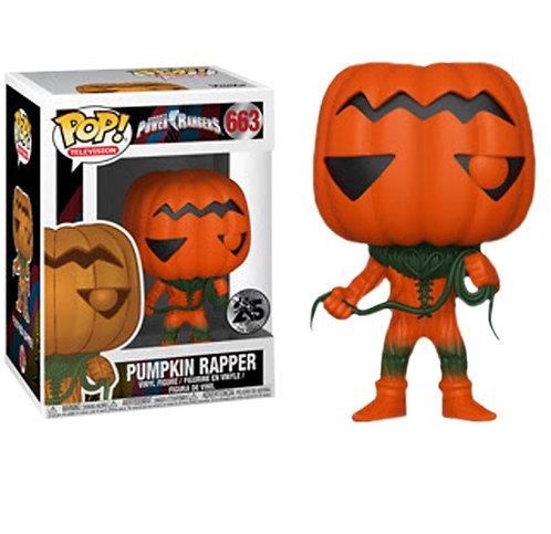 Power Rangers - Pumpkin Rapper US Exclusive Pop! Vinyl