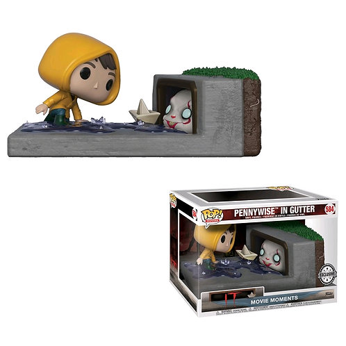 It (2017) - Pennywise in Gutter Movie Moments US Exclusive Pop! Vinyl