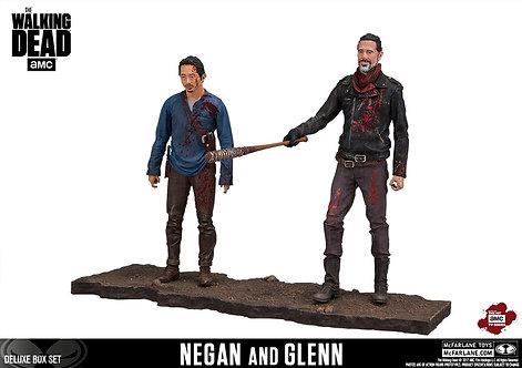 """The Walking Dead - Negan & Glenn 5"""" Deluxe Box Set"""