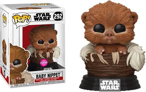 Star Wars - Baby Nippit Flocked US Exclusive Pop! Vinyl