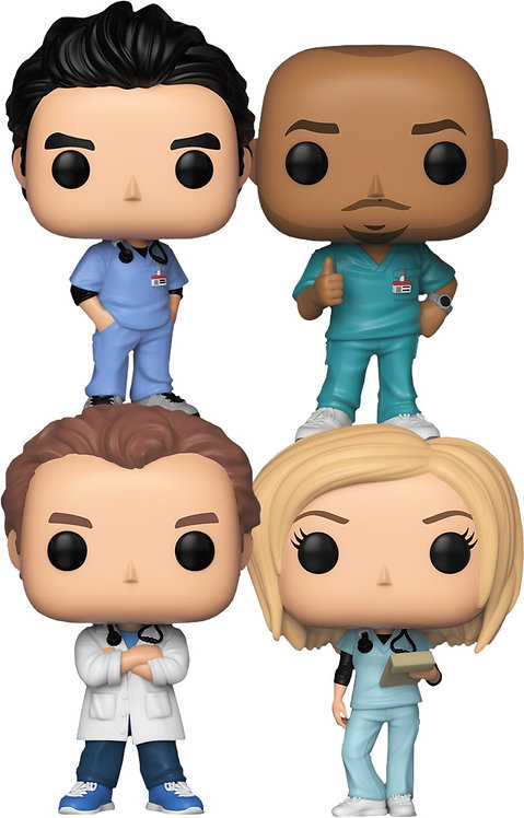 Scrubs - Pop! Vinyl Bundle (Set of 4)