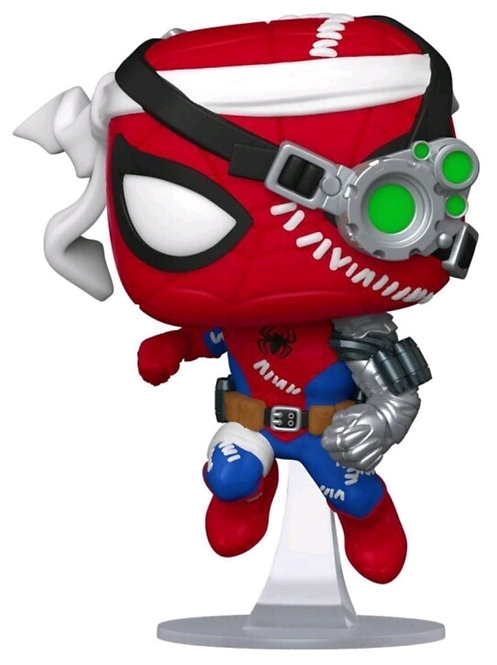 Spider-Man - Cyborg Spider-Man US Exclusive Pop!