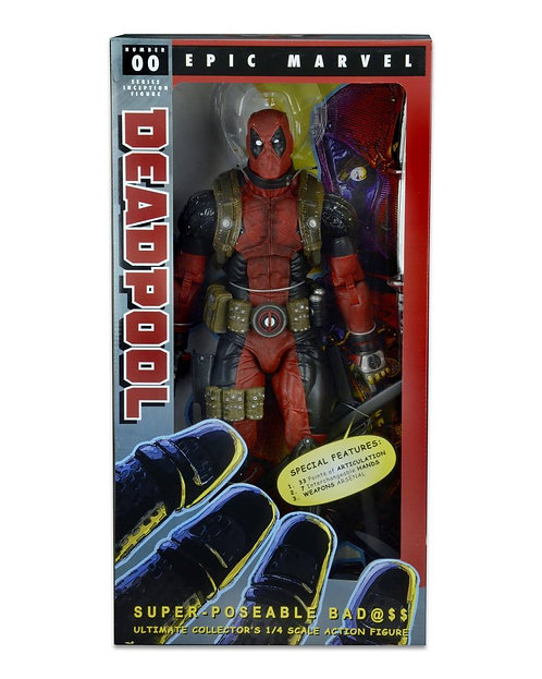 Deadpool - Deadpool 1:4 Scale Action Figure