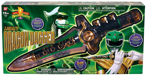 Mighty Morphin Power Rangers Legacy Dragon Dagger