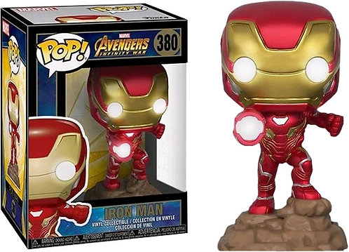 Avengers 3: Infinity War - Iron Man Light Up US Exclusive Pop! Vinyl