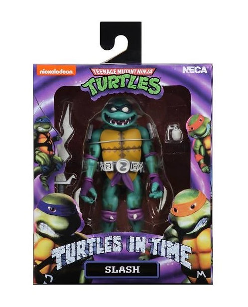 "Teenage Mutant Ninja Turtles In Time - Slash 7"" Action Figure"