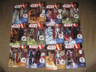 Carded Star Wars:The Force Awakens 3 3/4 Figures are here!