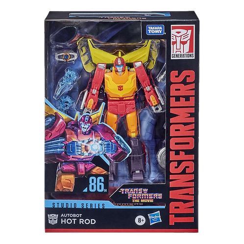 Transformers Studio Series 86-04 Voyager Autobot Hot Rod