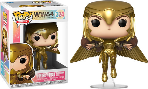 Wonder Woman: 1984 - Wonder Woman Gold Flying Pose Pop! Vinyl