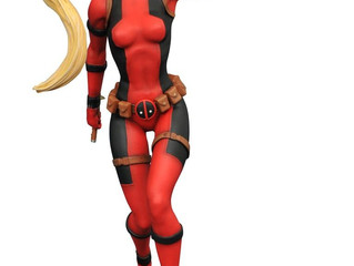 "Deadpool - Lady Deadpool 9"" PVC Figure"