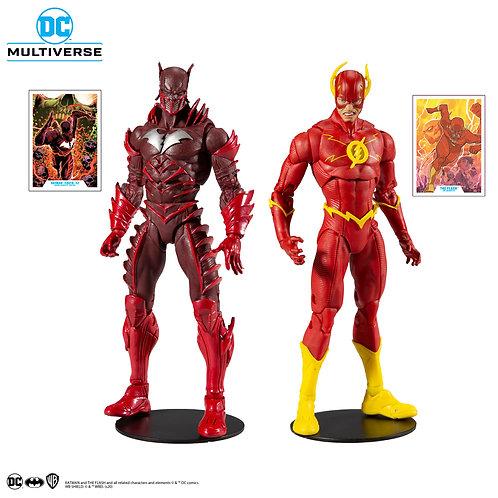 "DC Comics - Earth 52 Batman vs Flash 7"" Action Figure 2-pack"