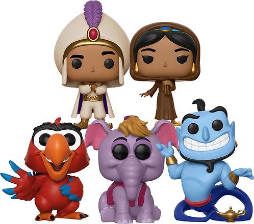 Aladdin - You Aint Never Had a Friend Like Me Pop! Vinyl Bundle