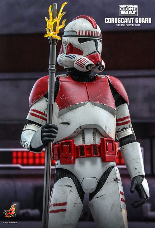 """Star Wars: The Clone Wars - Coruscant Guard 1:6 Scale 12"""" Action Figure"""