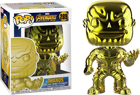 Avengers 3: Infinity War - Thanos Yellow Chrome US Exclusive Pop! Vinyl