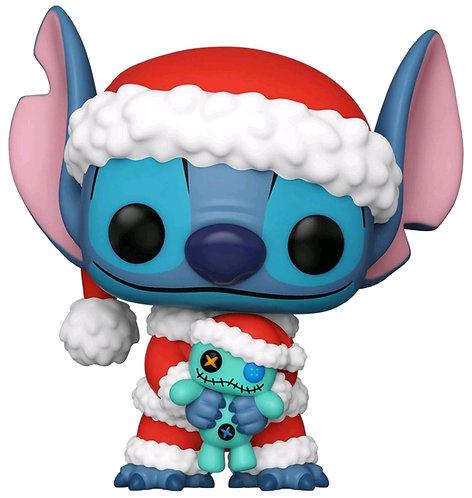 Lilo & Stitch - Santa Stitch with Scrump US Exclusive Pop! Vinyl