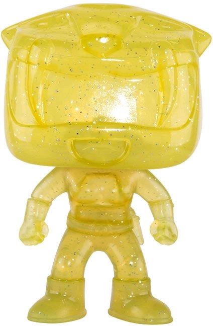Power Rangers - Yellow Ranger Morphing US Exclusive Pop!