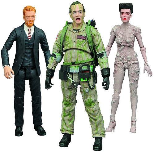 Ghostbusters - Series 4 Action Figures Set of 3
