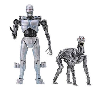 "Robocop vs Terminator - 7"" Endocop & Terminator Dog 2-Pack"