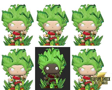 Dragon Ball Super - Super Saiyan Kale with Energy Base - Chase Bundle