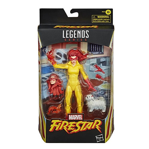 Marvel Legends Marvel's Firestar and Ms. Lion
